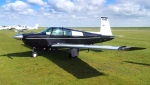 Mooney N30EG aircraft in new paint