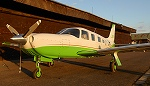 Piper PA-32R-301T in new paint
