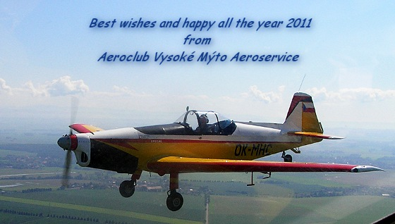 PF 2011 - Best wishes and happy all the year 2011 from aeroclub Vysoke Myto Aeroservice