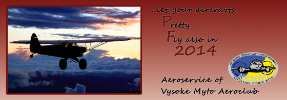 PF 2014, ...let your aircrafts Pretty Fly also in 2014 -- Aeroservice of Vysoke Myto Aeroclub